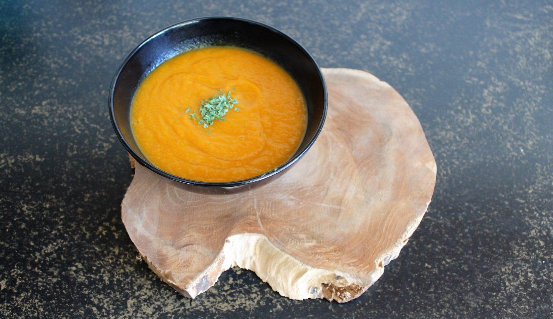 Recept   Herfstige wortelsoep