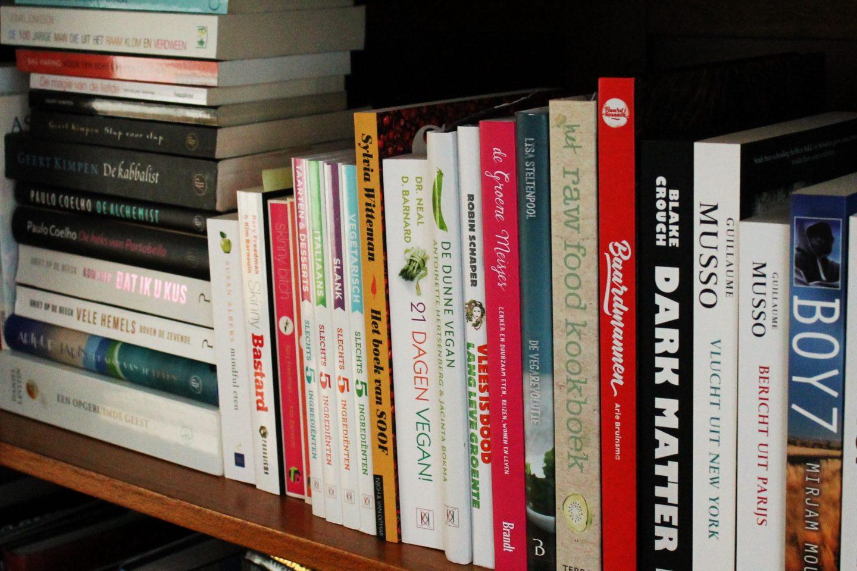 Hoe ruim je je boekenkast op?