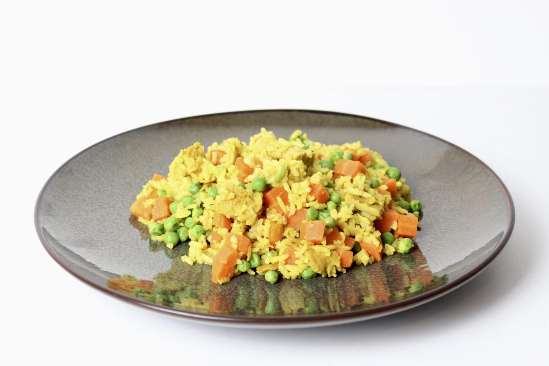 Recept | Vegan kipkerrie