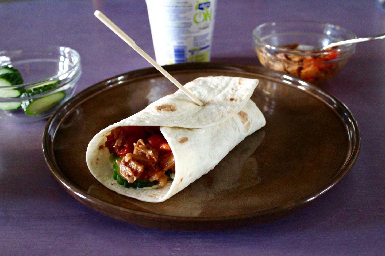 Recept | Pulled Veggie wraps