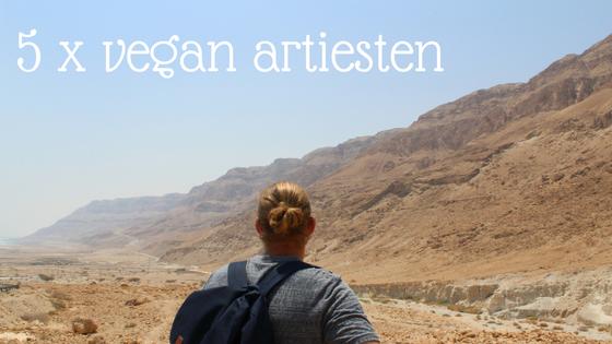 5 x vegan artiesten om bij weg te dromen