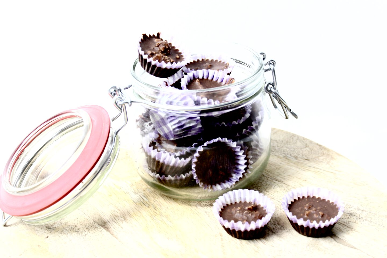 VEGAN CHOCOLADE MINI CUPCAKES