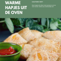 Een vegan verjaardag - warme hapjes uit de oven