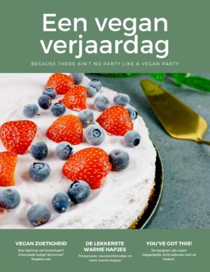 Een vegan verjaardag - cover