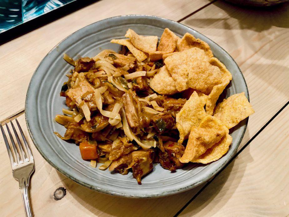 Wat ik eet op een dag 12 diner