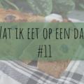 Wat ik eet op een dag 11