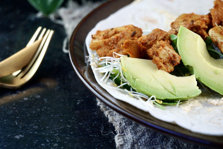 Recept | Groene no chicken wraps