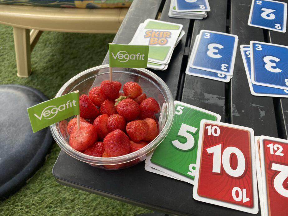 Wat ik eet op een dag vegan 23 aardbei