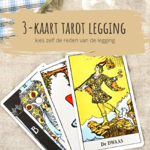 3-kaart tarot legging