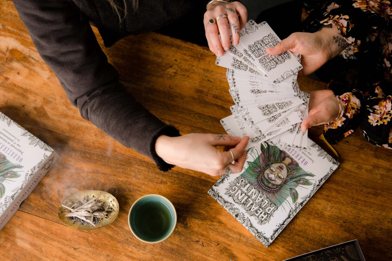 Healing Plants Orakelkaarten – De Orakelmeisjes