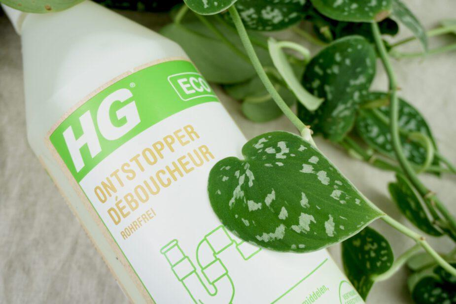 Ecologische schoonmaakmiddelen - ontstopper hg eco