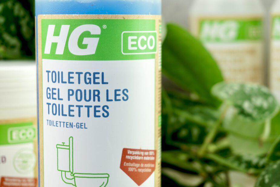 Ecologische schoonmaakmiddelen - toiletgel hg eco