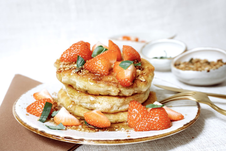 Recept | American Pancakes met Granola (glutenvrij)